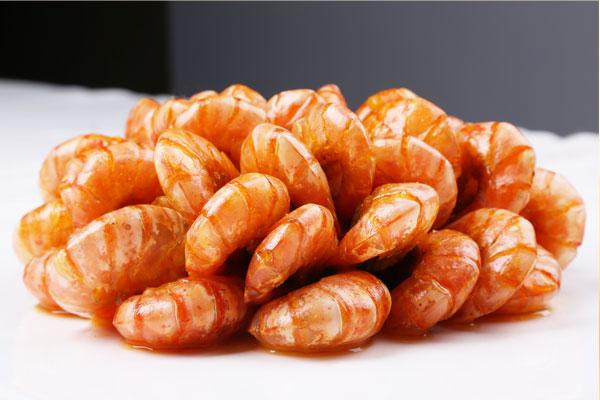 冷拼油焖大虾
