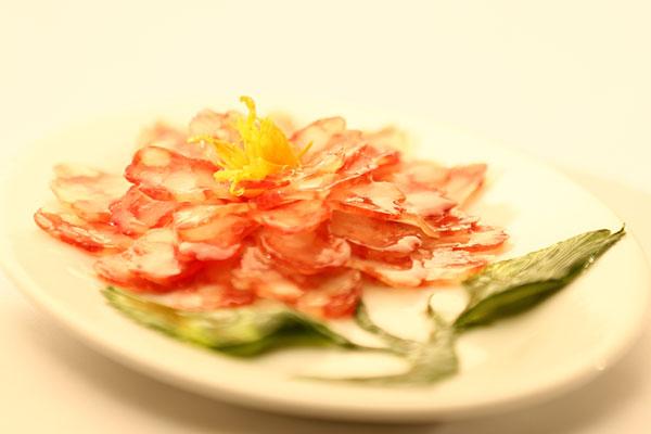 冷拼菜肴:花开富贵