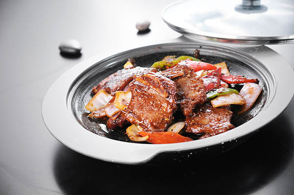 中餐作品――香锅牛肉