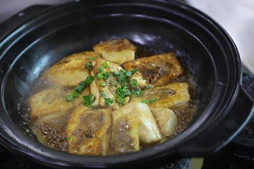 经典客家酿豆腐