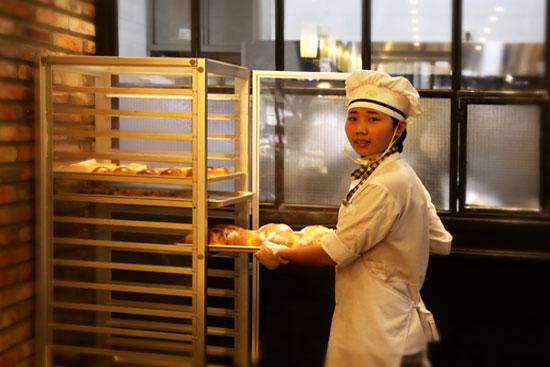 福建新东方烹饪学校西点成功学子