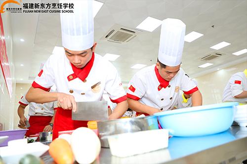 学厨师为什么那么多人选择福建新东方?他的魅力在哪里?