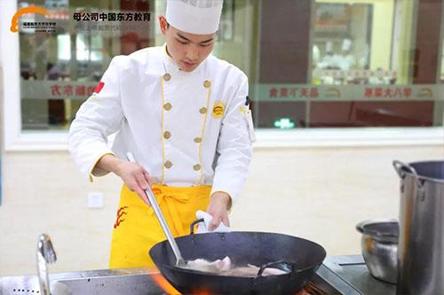 福建新东方烹饪学校的最美12月:愿你享受成长 祝你收获喜悦)