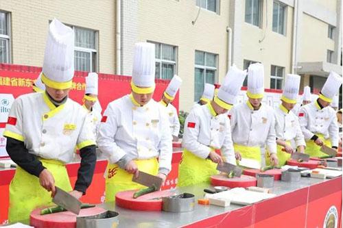 来新东方烹饪学校,技能+学历+高薪,选择比努力更重要