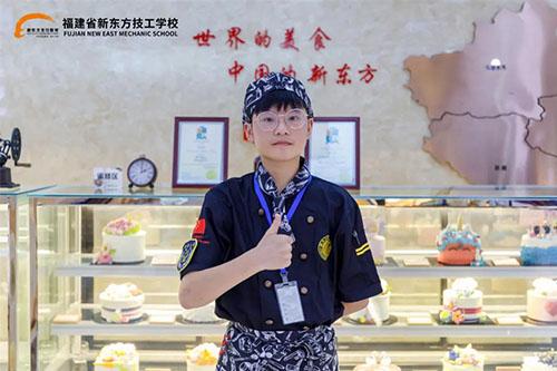 新生故事丨唐�桑汉�北男孩�黹}�W技能,向著西餐���粝氤霭l!