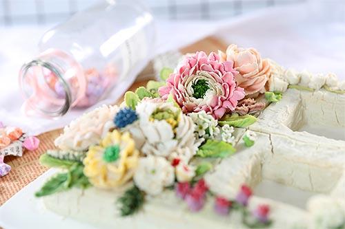 太美了!韩式裱花作品,美到炸裂的艺术!