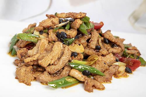 家常菜之辣椒炒肉的做法