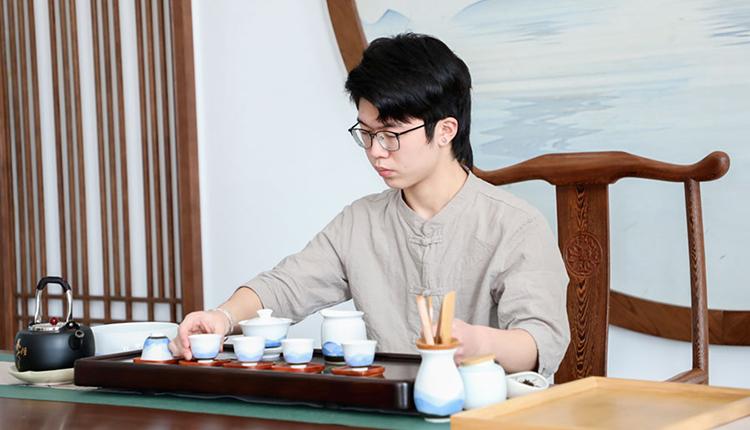 茶艺教学场景