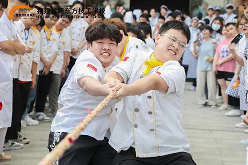 凝心聚力,不负青春 | 福建新东方拔河比赛火力开赛