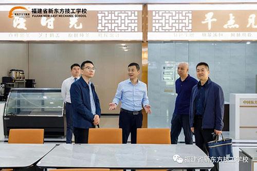 新疆维吾尔自治区技工教育中心纪主任对我校展开