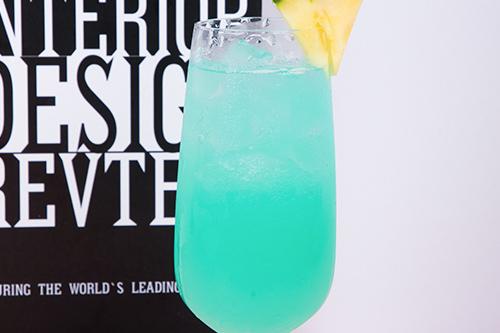蓝色夏威夷鸡尾酒
