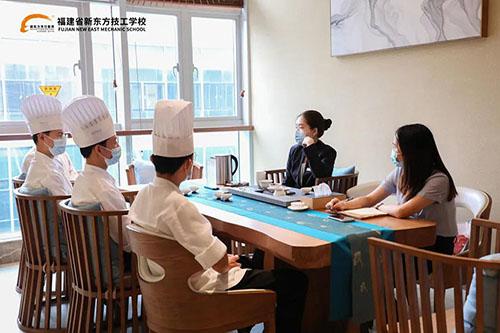 福建新东方走进福州海瀛湾佰翔度假酒店见证学子成长!)