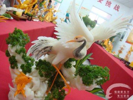 白鹤 雕刻作品