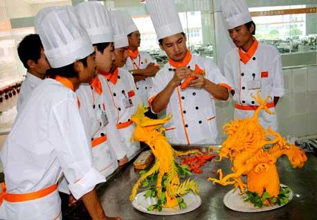 厨师雕刻教学步骤图片大全