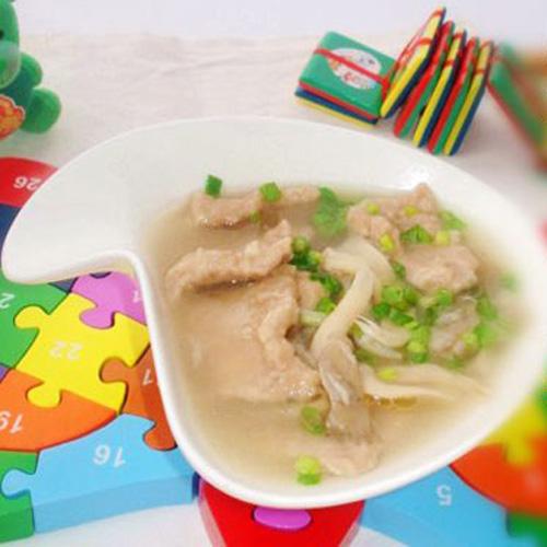滑肉厨师汤-福州新东方菜谱学校v厨师蘑菇_新东小儿感冒5食谱大全个月图片