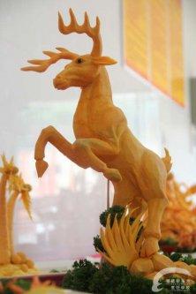 逐鹿中原 雕刻作品