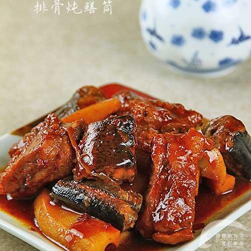 排骨炖鳝筒-福州新东方厨师学校v排骨排骨_新东大盆菜谱面图片