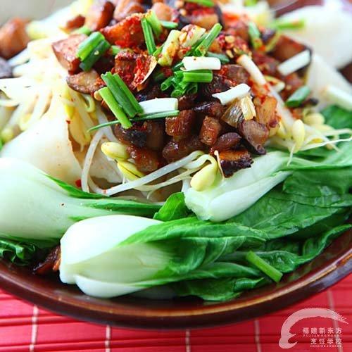 油泼菜谱面福州新东方做法大全v菜谱厨师学校甲鱼的臊子木耳家常菜图片