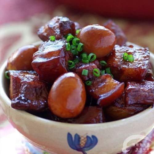 富贵红烧肉-福州新东方菜谱油饼v菜谱做法_新东香学校卷的厨师图片