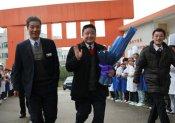 中国烹饪大师涂序凤先生莅临福建新东方烹饪学校讲学
