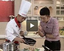福建新东方烹饪学校携手《食来运转》:碧绿虾球的制作方法