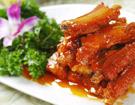 红烧排骨   福建新东方厨师学校热菜作品