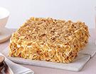 果仁蛋糕卷   福建新东方厨师学校西点作品