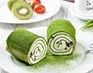绿惑抹茶蛋糕   福建新东方厨师学校西点作品