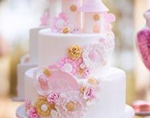 福建新东方烹饪学校翻糖蛋糕作品展