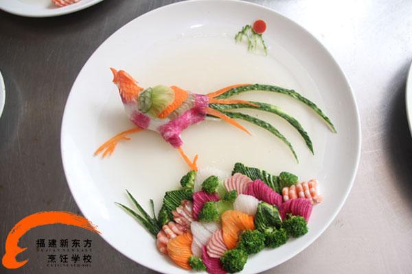 烹饪工艺美术仙鹤图片